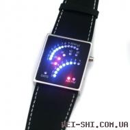 "LED часы ""Спидометр"""