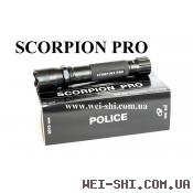 Фонарь Электрошокер Scorpion Pro Корея оригинал 2018