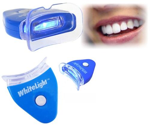 модель на отбеливание зубов